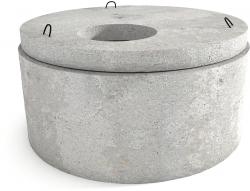 Крышка колодца бетонная 10:9